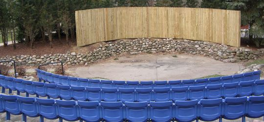 Amphitheatre New Fence