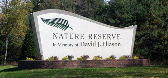 Eliason Nature Reserve Monument