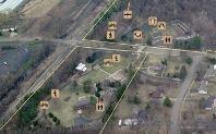 Portage Creek Bicentennial Park Small Map South Entrance